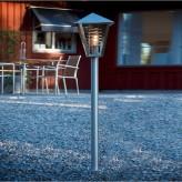 Luminaire d'extérieur : la borne lumineuse rétro est à la mode