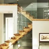 La création d'un escalier contemporain