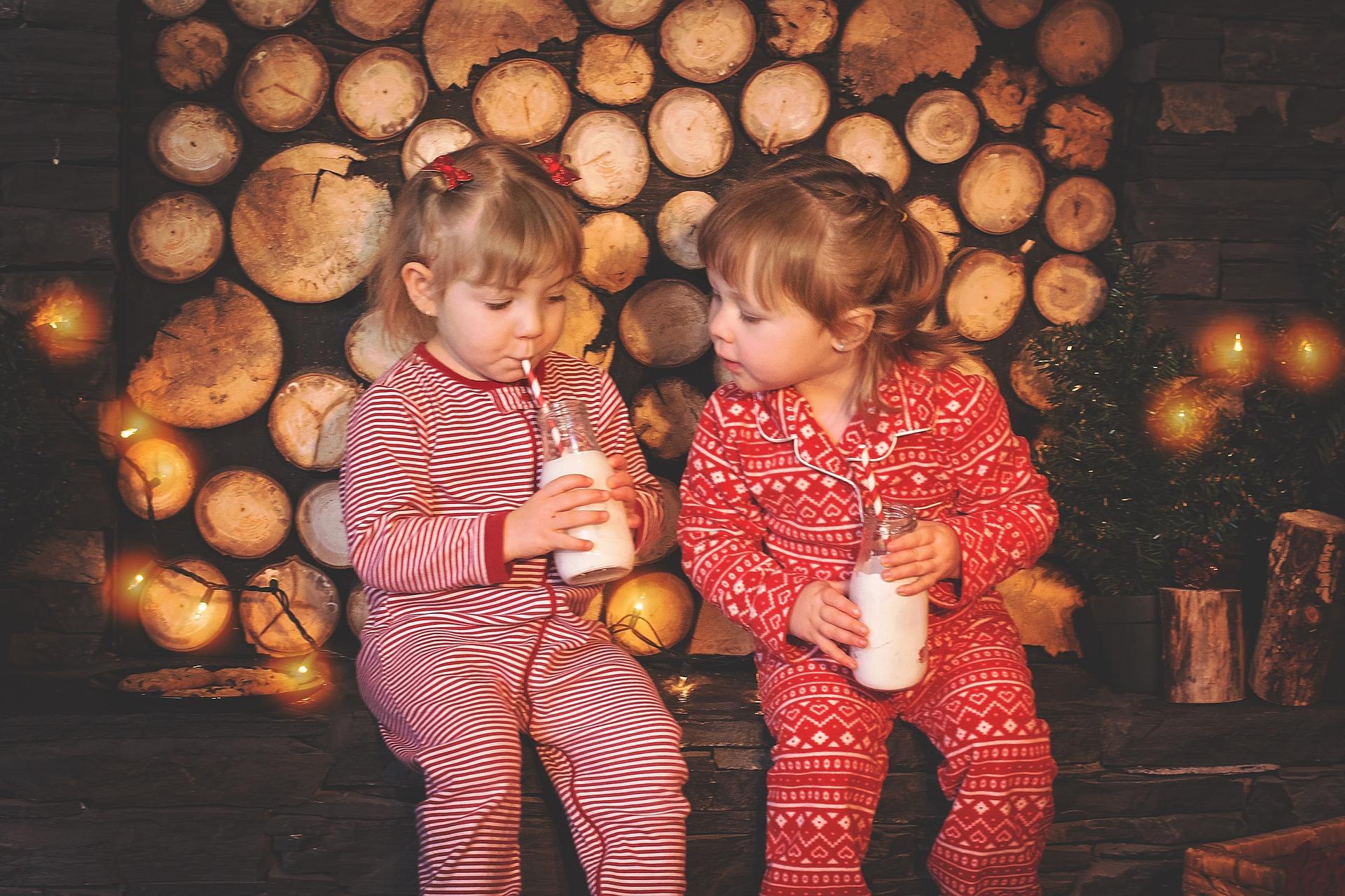 Les enfants et le lait de vache